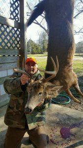 8 Point Deer Hunting